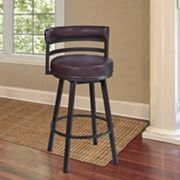 Armen Living Madrid 26' Swivel Counter Stool