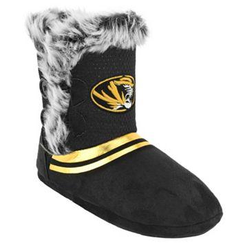 Women's Missouri Tigers Mid-High Faux-Fur Boots