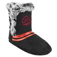 Women's Montana Grizzlies Mid-High Faux-Fur Boots