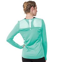 Women's Soybu Endurance Peek-A-Boo Racerback Long Sleeve Tee
