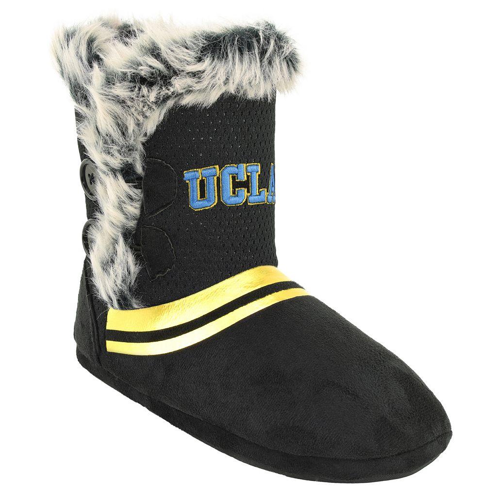 Women's UCLA Bruins Mid-High Faux-Fur Boots