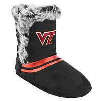 Women's Virginia Tech Hokies Mid-High Faux-Fur Boots
