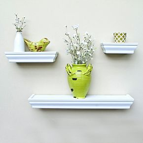 Harbortown Wall Shelf 3-piece Set