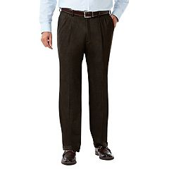 Men's J.M. Haggar Premium Classic-Fit Pleat-Front Stretch Suit Pants