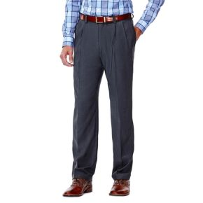 Men's J.M. Haggar Premium Classic-Fit Pleat-Front Stretch Suit Pants