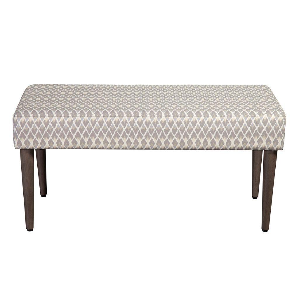 HomePop Gray Bench