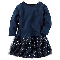 Girls 4-8 Carter's Knit Top & Tulle Skirt Dress