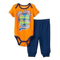 Baby Boy Teenage Mutant Ninja Turtles Graphic Bodysuit & Pants Set