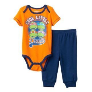 Baby Boy Teenage Mutant Ninja Turtles Graphic Bodysuit & Pants Set