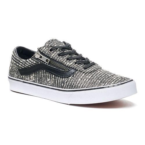 6add23ce92 Vans Milton Zip Women s Tweed Skate Shoes