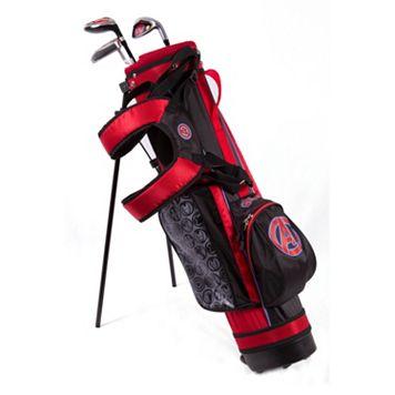 Kids Marvel Avengers 3-5 Years Junior Golf Club & Stand Bag Set