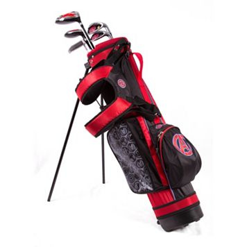 Kids Marvel Avengers 6-8 Years Junior Golf Club & Stand Bag Set