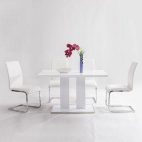 Armen Living Argyle Dining Chair 2-piece Set