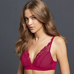 Simply Vera Vera Wang Bras: Lace Wire Free Plunge Bralette