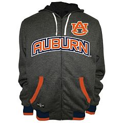 Men's Franchise Club Auburn Tigers Power Play Reversible Hooded Jacket