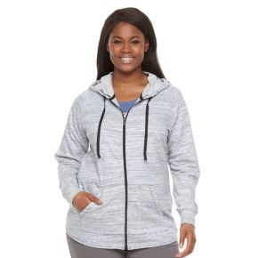 Plus Size Columbia Lemon Valley Space-Dye Hoodie