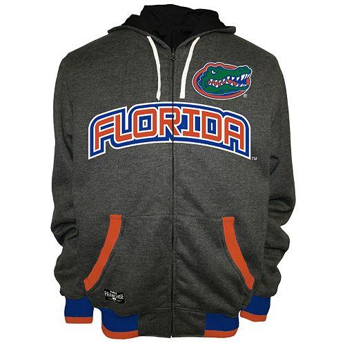 Men's Franchise Club Florida Gators Power Play Reversible Hooded Jacket