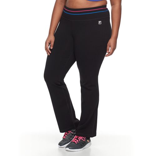 Plus Size FILA SPORT® Vibrant Workout Pants
