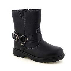 Deer Stags Curb Boy's Water-Resistant Boots