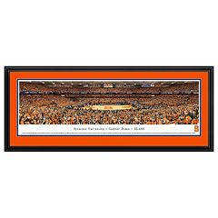 Syracuse Orange Basketball Arena Framed Wall Art