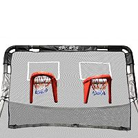 Skywalker Trampolines Double Basketball Hoop for 12-Foot Round Trampolines