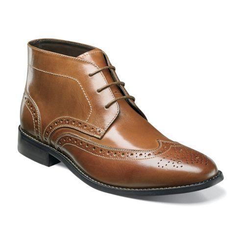Bush Nichols Men's Wingtip Chukka Boots