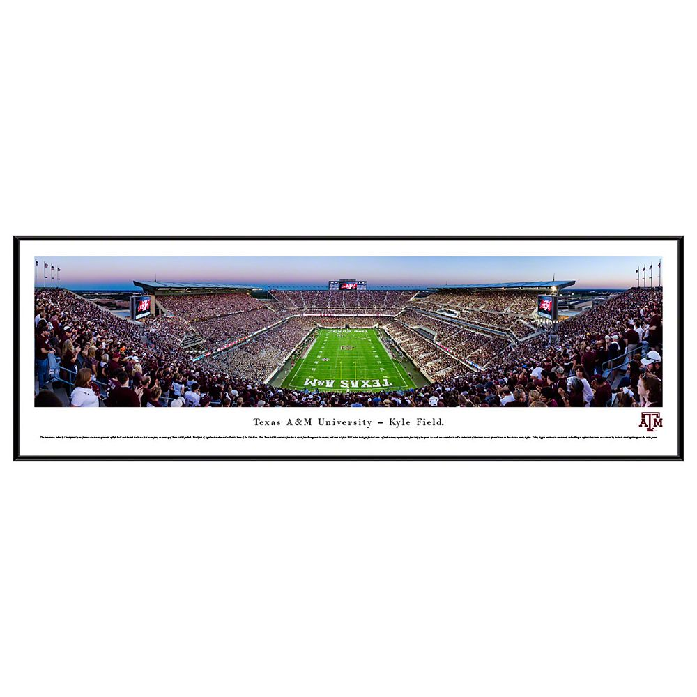 Texas A&M Aggies Football Stadium Framed Wall Art