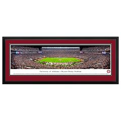 Alabama Crimson Tide Football Stadium Framed Wall Art