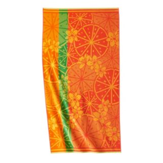 Celebrate Summer Together Citrus Beach Towel