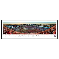 Arizona Wildcats Football Stadium Framed Wall Art