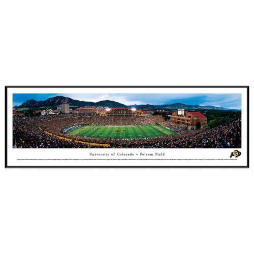 Colorado Buffaloes Football Stadium Framed Wall Art