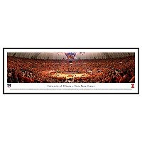 Illinois Fighting Illini Basketball Arena Framed Wall Art