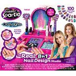 Shimmer & Sparkle Crazy Lights Super Nail Salon by Cra-Z-Art