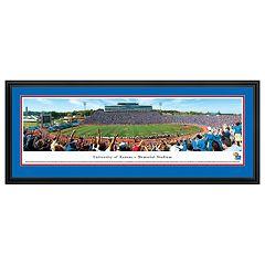Kansas Jayhawks Football Stadium Framed Wall Art