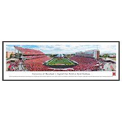Maryland Terrapins Football Stadium Framed Wall Art