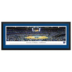 Memphis Tigers Basketball Arena Framed Wall Art