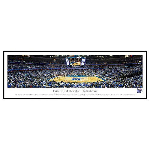 Memphis Tigers Basketball Arena Framed Wall Art