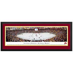 Minnesota Golden Gophers Hockey Arena Framed Wall Art