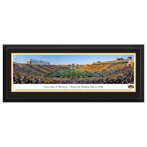 Missouri Tigers Football Stadium Framed Wall Art