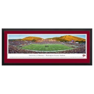 Montana Grizzlies Football Stadium Framed Wall Art