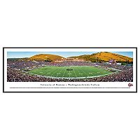 Montana Grizzlies Football Stadium Framed Wall Art