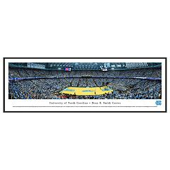 North Carolina Tar Heels Basketball Arena Framed Wall Art