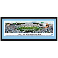 North Carolina Tar Heels Football Stadium Framed Wall Art