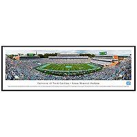 North Carolina Tar Heels Football Stadium Framed Wall Art
