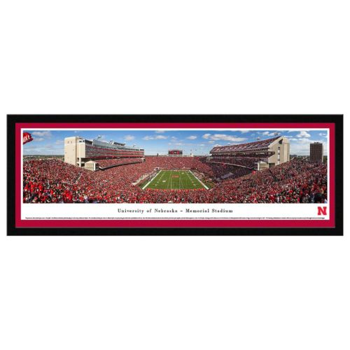 Nebraska Cornhuskers Football Stadium Framed Wall Art