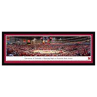 Nebraska Cornhuskers Basketball Arena Framed Wall Art