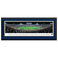 Notre Dame Fighting Irish 125th Year Football Stadium Framed Wall Art