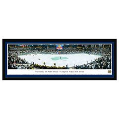 Notre Dame Fighting Irish Hockey Arena Framed Wall Art