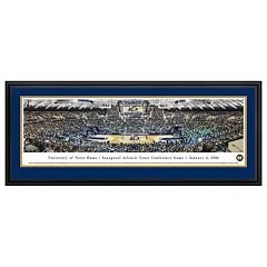 Notre Dame Fighting Irish Basketball Arena Framed Wall Art