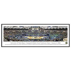 Notre Dame Fighting Irish Basketball Arena Framed Wall Art